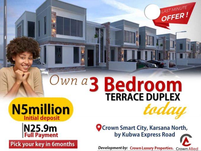 Terrace Duplex (Crown Smart City)