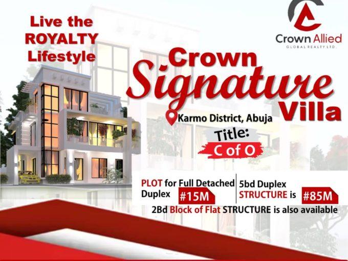 Crown Signature Villa