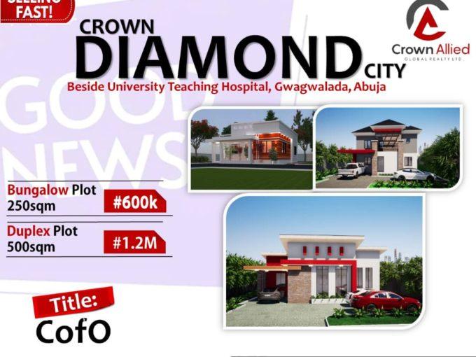 Crown Diamond City – Land Only